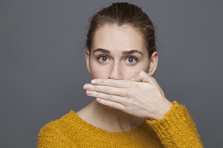 causes of bad breath - gum disease